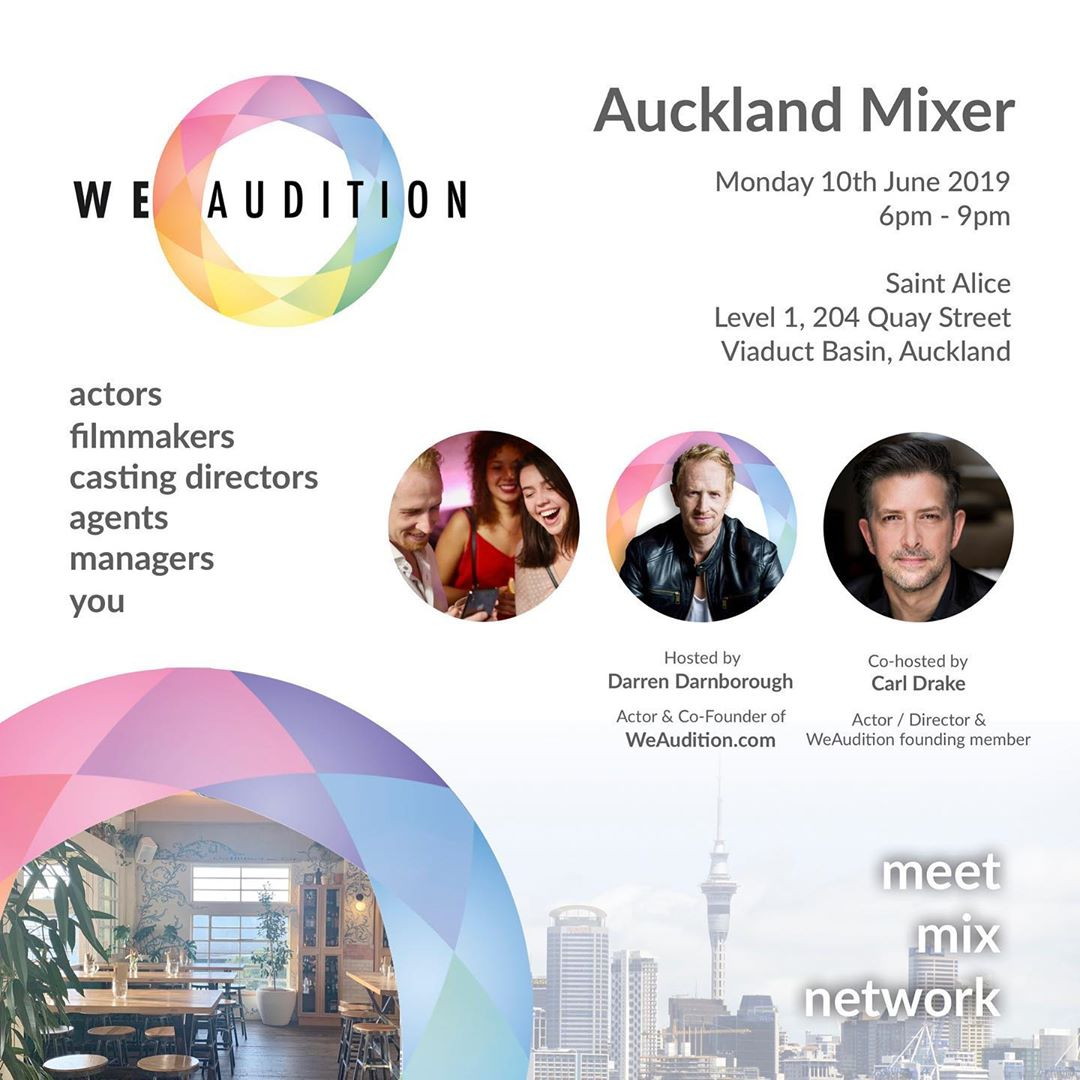 Auckland Mixer June 2019