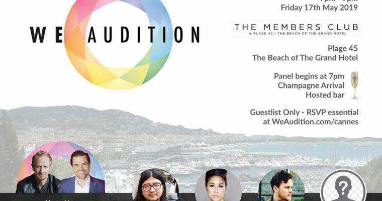 Cannes 2019 Panel and Party