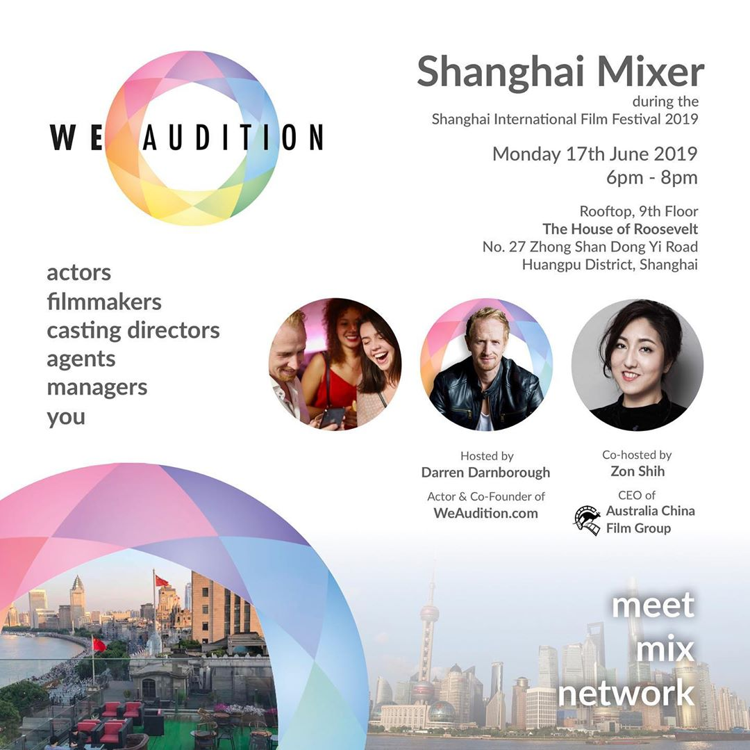 Shanghai Mixer June 2019