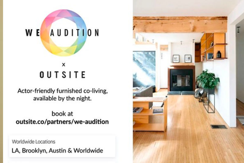WeAudition Partnership